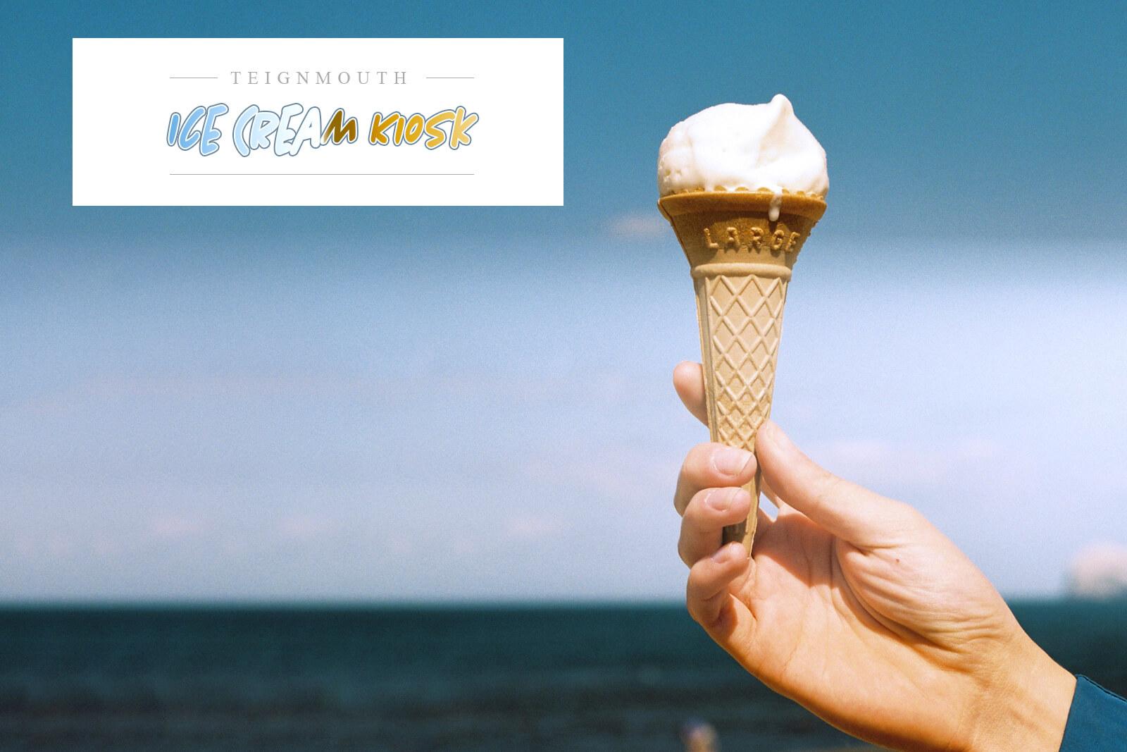 Teignmouth ice cream. Teignmouth Airshow sponsor.